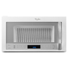 Whirlpool 1.9-cu ft Over-the-Range Convection Microwave with Sensor Cooking Controls (White Ice) (Common: 30-in; Actual: 29.938-in)