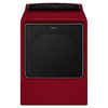 Whirlpool Cabrio 8.8-cu ft Electric Dryer with Steam Cycles (Cranberry Red) ENERGY STAR