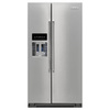 KitchenAid 24.8-cu ft Side-by-Side Refrigerator with Single Ice Maker (Stainless Steel) ENERGY STAR