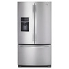 Whirlpool 26.8-cu ft 3 French Door Refrigerator Dual Ice Maker (Monochromatic Stainless Steel) ENERGY STAR
