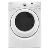 Whirlpool 7.4-cu ft Reversible Side Swing Stackable Electric Dryer (White) ENERGY STAR