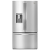 Whirlpool 31.54-cu ft French Door Refrigerator with Dual Ice Maker (Monochromatic Stainless Steel)