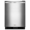 Whirlpool 5.6-cu ft Built-In/Freestanding Compact Refrigerator (Monochromatic Stainless Steel)