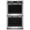 Whirlpool Self-Cleaning Convection Single-Fan Double Electric Wall Oven (Stainless Steel) (Common: 30-in; Actual: 30-in)