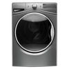 Whirlpool 4.5-cu ft High-Efficiency Stackable Front-Load Washer with Steam Cycle (Chrome Shadow) ENERGY STAR