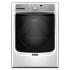 Maytag 4.5-cu ft High-Efficiency Stackable Front-Load Washer with Steam Cycle (White) ENERGY STAR