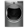 Whirlpool 7.4-cu ft Stackable Electric Dryer with Steam Cycles (Chrome Shadow) ENERGY STAR
