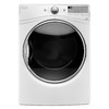 Whirlpool 7.4-cu ft Stackable Electric Dryer with Steam Cycles (White) ENERGY STAR