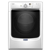 Maytag 7.4-cu ft Stackable Electric Dryer (White) ENERGY STAR
