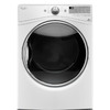 Whirlpool 7.4-cu ft Stackable Gas Dryer with Steam Cycles (White)