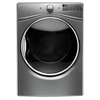 Whirlpool 7.4-cu ft Stackable Gas Dryer with Steam Cycles (Chrome Shadow)