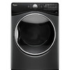 Whirlpool 7.4-cu ft Stackable Gas Dryer with Steam Cycles (Black Diamond)