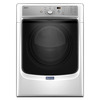 Maytag 7.4-cu ft Stackable Gas Dryer with Steam Cycles (White)