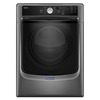 Maytag 7.4-cu ft Stackable Gas Dryer with Steam Cycles (Metallic Slate)