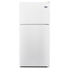 Maytag 18.1-cu ft Top-Freezer Refrigerator (White)