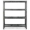 Gladiator 72-in H x 60-in W x 18-in D 4-Tier Steel Freestanding Shelving Unit