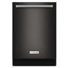 KitchenAid 44-Decibel Built-in Dishwasher (Black Stainless) (Common: 24-in; Actual: 23.875-in) ENERGY STAR