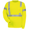 Red Kap Large Safety Green High Visibility Reflective T-Shirt