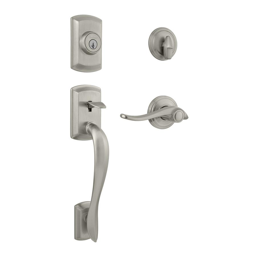 Shop Kwikset Avalon Smartkey Satin Nickel Single Lock