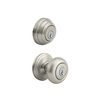 Kwikset Signature Cameron SmartKey Satin Nickel Round Keyed Entry Door Knob