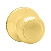 Kwikset Copa Polished Brass Residential Dummy Door Knob