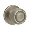 Kwikset Copa Antique Brass Residential Dummy Door Knob