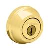 Kwikset 780 Series SmartKey Polished Brass Single-Cylinder Deadbolt
