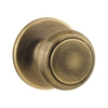 Kwikset Cove Antique Brass Residential Dummy Door Knob