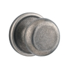 Kwikset Hancock Rustic Pewter Round Residential Passage Door Knob