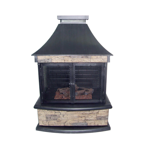 Stonegate Outdoor Gas Fireplace