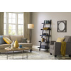 allen + roth Grancove 62.5-in Espresso with Brushed Nickel Indoor Floor Lamp with Fabric Shade