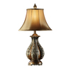 Absolute Decor 30-in 3-Way Warm Golden Bronze Table Lamp with Gold Shade