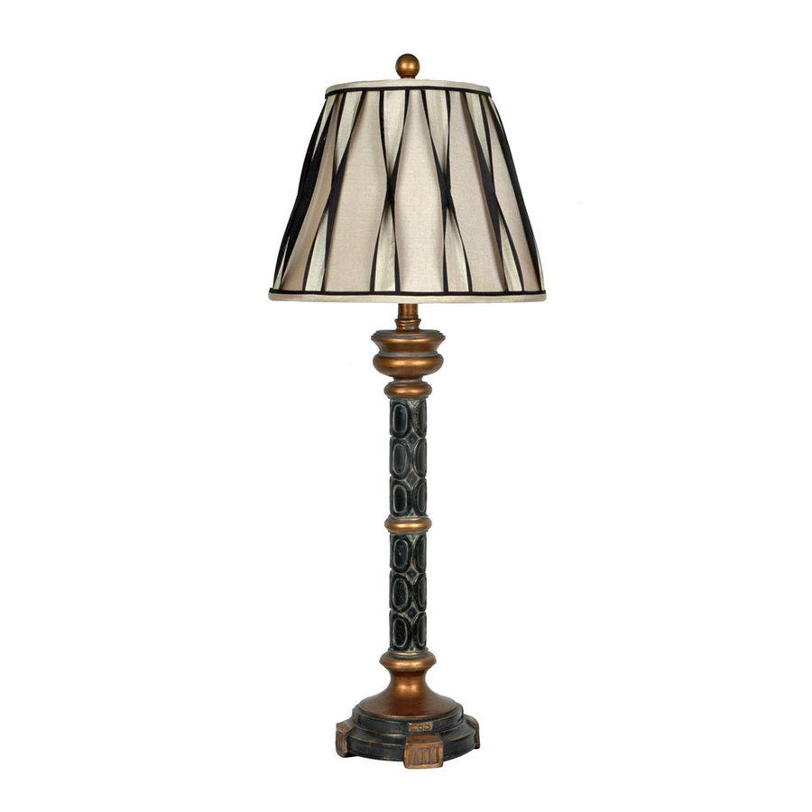 switch black and gold indoor table lamp with fabric shade at. Black Bedroom Furniture Sets. Home Design Ideas