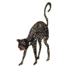SYLVANIA 32 Lighted Animated Black Cat V33106-67
