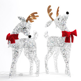 SYLVANIA 2-Pack 3-ft Outdoor LED Christmas Deer