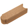 Copper Matt Log Edging Stone (Common: 3-in x 4-in; Actual: 3-in H x 3-in L)