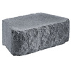 Anchor Block 12-in L x 4-in H Charcoal Hudson Retaining Wall Block (Actuals 11.63-in L x 4-in H)