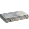 Anchor Block 12-in L x 2-in H Charcoal Chiselwall Retaining Wall Cap (Actuals 12-in L x 2-in H)