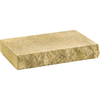 Anchor Block 12-in L x 2-in H Tan Chiselwall Retaining Wall Cap (Actuals 12-in L x 2-in H)