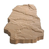 Anchor Block Tan/Brown Footnotes Patio Stone (Common: 15-in x 20-in; Actual: 15-in x 20-in)