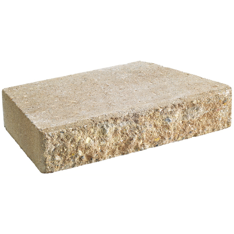 Retaining Wall Block Caps Home Depot : Anchor block sand hudson retaining wall cap common in actual