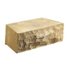 Anchor Block 12-in L x 4-in H Tan Chiselwall Retaining Wall Block (Actuals 12-in L x 4-in H)