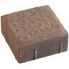 Autumn Blend Dutch Cobble Concrete Paver (Common: 6-in x 6-in; Actual: 5.5-in x 5.5-in)