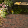 Anchor Block Red/Charcoal Holland Paver (Common: 4-in x 8-in; Actual: 3.8-in x 7.8-in)