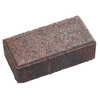 Red Charcoal Holland Concrete Paver (Common: 4-in x 8-in; Actual: 3.875-in x 7.875-in)