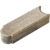 Char Tan Matt Log Edging Stone (Common: 3-in x 4-in; Actual: 3-in H x 3-in L)