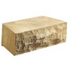 Anchor Block 16-in L x 5-in H Tan Chiselwall Retaining Wall Block (Actuals 16-in L x 5-in H)