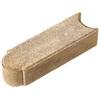 Tan Brown Matt Log Edging Stone (Common: 3-in x 4-in; Actual: 3-in H x 3-in L)