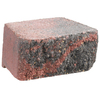 Anchor Block Bertram 8-in L x 4-in H Red Hudson Retaining Wall Block (Actuals 8.5-in L x 4-in H)