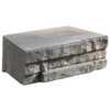Anchor 12-in L x 4-in H Charcoal Ledgewall Retaining Wall Block (Actuals 12-in L x 4-in H)